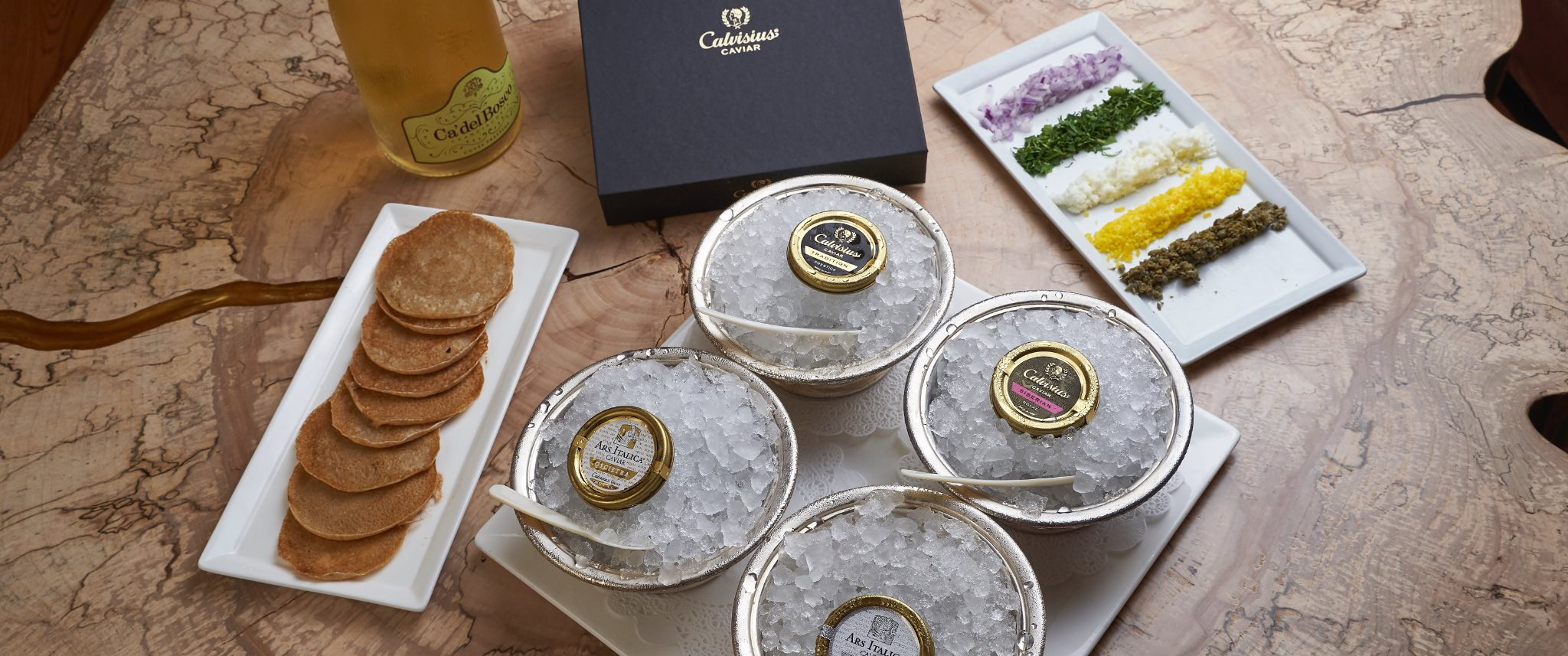 Our Caviar Selection
